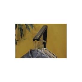 Buy Arrow Hanger AH12BK/M Instahanger Black Plastic - Laundry and Bath