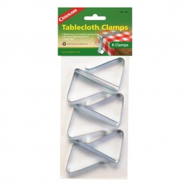 Buy Coghlans 527 Tablecloth Clamps Steel 6/Pk - Camping and Lifestyle