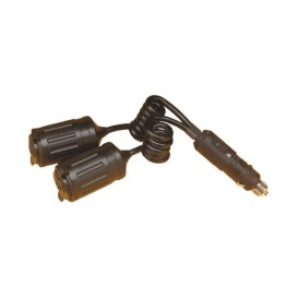 Buy 12V Deluxe Dual Outlet Adapter Marinco 12VADRV - Switches and