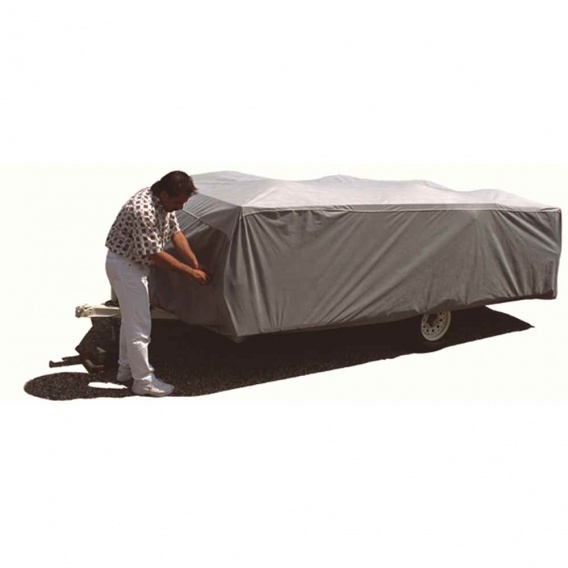 Buy Adco Products 12295 Aquashed Folding Trailer Cover 16'1 To 18' -