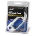 Carport Foot White