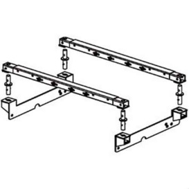 Buy Pullrite 4425 Superrail Brackets & Hardware Only - Fifth Wheel