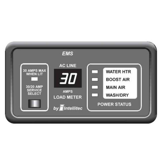 Buy Intellitec 0000903030 Panel Monitor EMS 30Amp - Sanitation Online RV