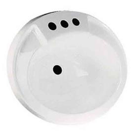 Buy Lasalle Bristol 16305PW Lavatory Bowl White ABS - Sinks Online|RV