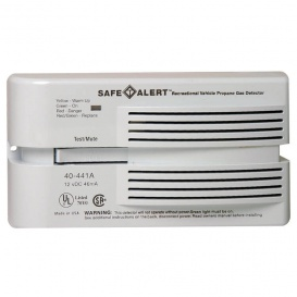 Buy LP Gas Alarm Surface Mount Safe-T-Alert 40441PWT - Safety and