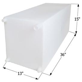 Buy  Fresh Water Tank WT2463 - 30 Gal w/Fittings - Freshwater Online RV