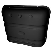Icon  Deluxe Thermoformed Propane Tank Cover - Black  NT71-5788 - LP Tank Covers - RV Part Shop Canada