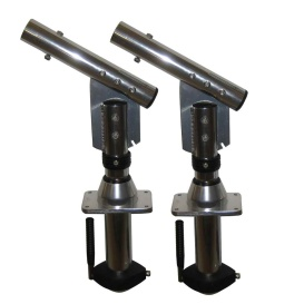 Buy Lee's Tackle SW9300 Sidewinder Bolt-In Outrigger Mounts, Lay-Down