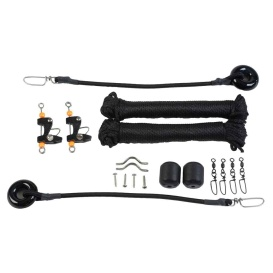 Buy Lee's Tackle RK0322RK Single Rigging Kit - Up to 25ft Outriggers -