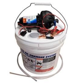 Buy Jabsco 17850-1012 DIY Oil Change System w/Pump & 3.5 Gallon Bucket -
