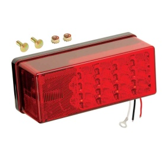 "Buy Wesbar 407535 3"" x 8"" Waterproof LED 8-Function, Left/Roadside Tail"