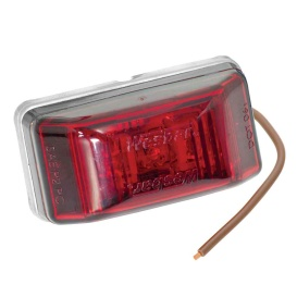 Buy Wesbar 401566 LED Clearance-Side Marker Light 99 Series - Red - Boat