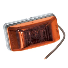 Buy Wesbar 401565 LED Clearance-Side Marker Light 99 Series - Amber -