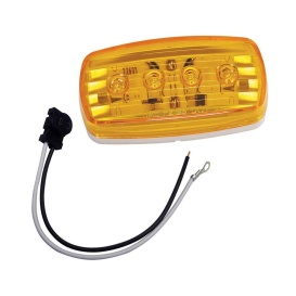 Buy Wesbar 401585KIT LED Clearance/Side Marker Light - Amber 58 w/Pigtail