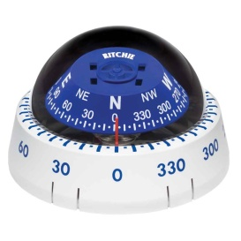 Buy Ritchie XP-99W XP-99W Kayaker Compass - Surface Mount - White -