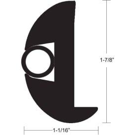 Buy TACO Marine V11-2423BBK50-2 Flex Vinyl Rub Rail Kit - Black w/Black