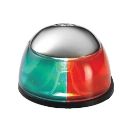 Buy Attwood Marine 3810-7 2-Mile Deck Mount, Bi-Color Red/Green Combo -
