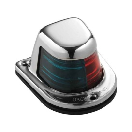 Buy Attwood Marine 66318-7 1-Mile Deck Mount, Bi-Color Red/Green Combo