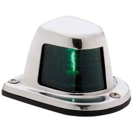 Buy Attwood Marine 66319G7 1-Mile Deck Mount, Green Sidelight - 12V -