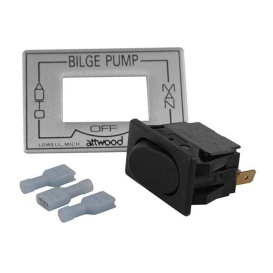 Buy Attwood Marine 7615A3 3-Way Auto/Off/Manual Bilge Pump Switch -