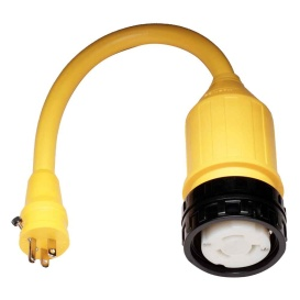 Buy Marinco 115A 115A Pigtail Adapter - 50A Female to 15A Male - Marine