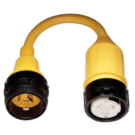 Buy Marinco 117A 117A Pigtail Adapter - 50A Female to 30A Male - Marine