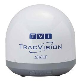 Buy KVH 01-0372 TracVision TV1 Empty Dummy Dome Assembly - Marine Audio