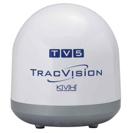 Buy KVH 01-0373 TracVision TV5 Empty Dummy Dome Assembly - Marine Audio