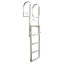 Buy Dock Edge 2035-F SLIDE-UP Aluminum 5-Step Dock Ladder - Anchoring and