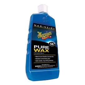 Buy Meguiar's M5616 56 Boat/RV Pure Wax - 16oz - Boat Outfitting Online|RV