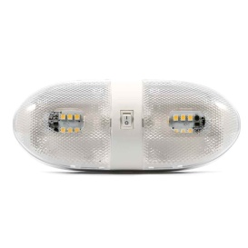 Buy Camco 41321 LED Double Dome Light - 12VDC - 320 Lumens - Camping