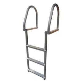 Buy Dock Edge 2173-F Aluminum 3-Step Eco Flip-Up Dock Ladder - Weld Free