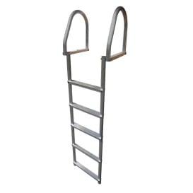 Buy Dock Edge 2175-F Aluminum 5-Step Eco Flip-Up Dock Ladder - Weld Free -