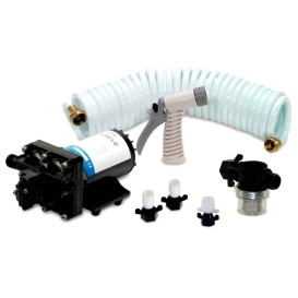 Buy Shurflo 4338-121-E07 BLASTER II Washdown Kit - 12VDC, 3.5GPM w/25'
