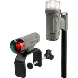 Buy Attwood Marine 14190-7 Clamp-On Portable LED Light Kit - Marine Gray