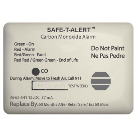 Buy Safe-T-Alert 62-541-MARINE-RLY-NC 62 Series Carbon Monoxide Alarm