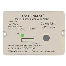 Buy Safe-T-Alert 62-542-MARINE-RLY-NC 62 Series Carbon Monoxide Alarm