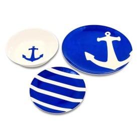 Buy Camco 41951 12-Piece Dinnerware Set - BPA Free - Serves 4 - Boat