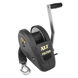 Buy Fulton 142314 1800lb Single Speed Winch w/20' Strap Included - Black