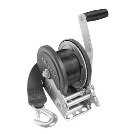 Buy Fulton 142208 1500lb Single Speed Winch w/20' Strap & Cover - Boat