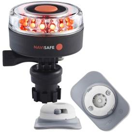 Buy Navisafe 045KIT4 Navilight All RED 360-deg 2NM w/Navimount Base & RIB