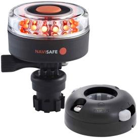 Buy Navisafe 045KIT7 Navilight All RED 360-deg 2NM w/Navimount Base &