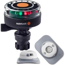 Buy Navisafe 340KIT4 Navilight 2NM Tricolor w/Navimount Base & RIB Mount