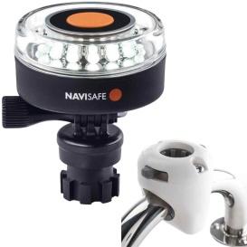 Buy Navisafe 040KIT3 Navilight 360-deg 2NM White w/Navimount Base & Rail