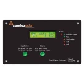 Buy Samlex America SCC-30AB Flush Mount Solar Charge Controller w/LCD