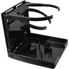 Buy Attwood Marine 2445-7 Fold-Up Drink Holder - Dual Ring - Black - Boat