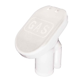 "Buy Perko 1428G00WHT Sealed Flip Top Cap Fills f/1-1/2"" Hose - White -"