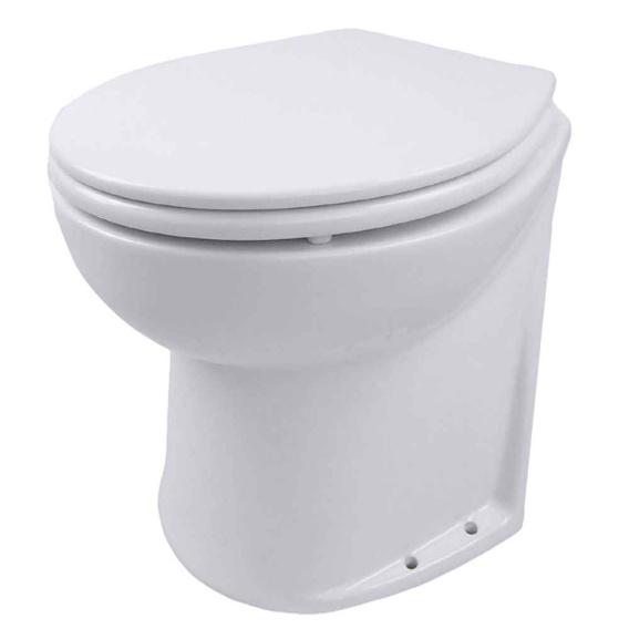 "Buy Jabsco 58260-1024 Deluxe Flush 14"" Slant Back 24V Electric Toilet"