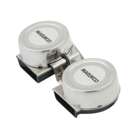 Buy Marinco 10001 12V Mini Twin Comapct Electric Horn - Boat Outfitting