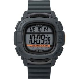 Buy Timex TW5M26700JV DGTL BST.47 Boost Shock Watch - Grey/Orange -